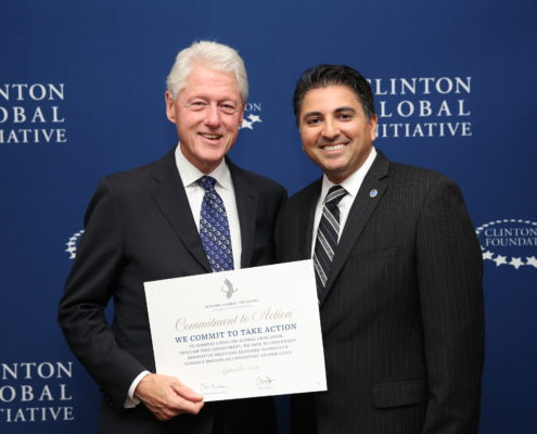 Clinton Global Initiative Kevin 495x400 - Home