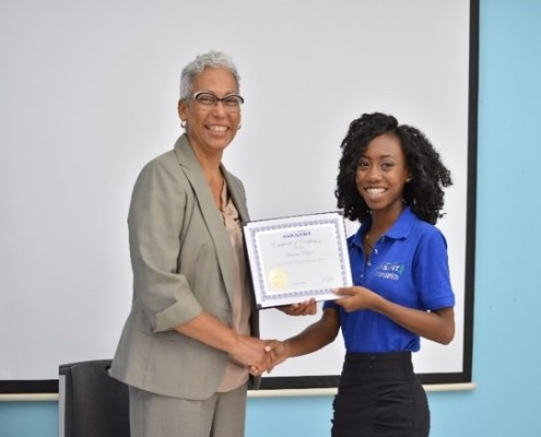 Getting Certificate 1 495x400 - Golf For Impact