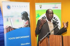 Minister small 300x199 - Unique Digital Jobs Program in Jamaica Generates High Value Opportunities for Over 120 Deserving Youth
