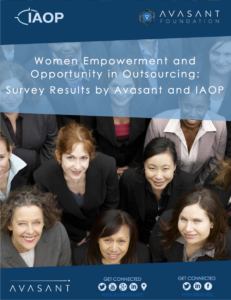 Screen Shot 2017 02 09 at 9.26.34 PM 231x300 - Women Empowerment and Opportunity in Outsourcing:  Survey Results by Avasant and IAOP