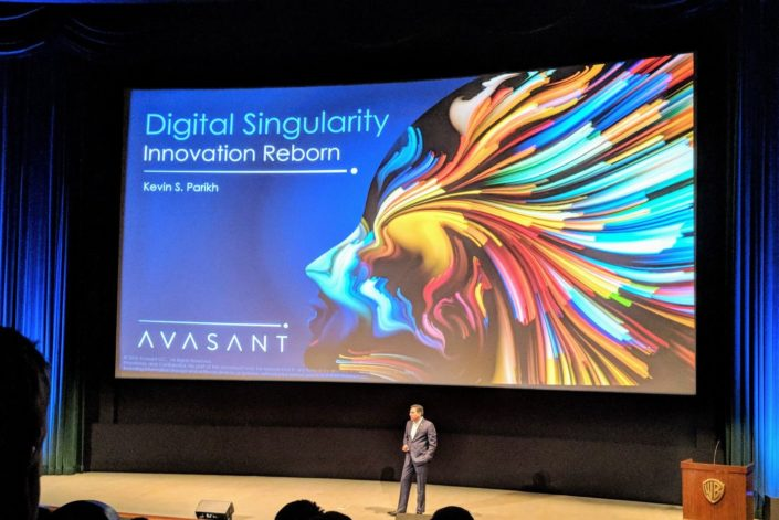 Keynote presentation: Digital Singularity: A Case for Humanity presented by Avasant CEO, Kevin S. Parikh at Empowering Beyond Summit 2018