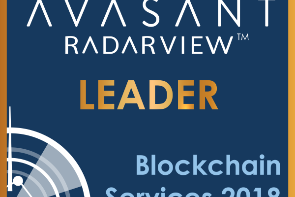 Hero Leader Square 600x400 - Blockchain Services RadarView™: Preparing for the Next Big Thing