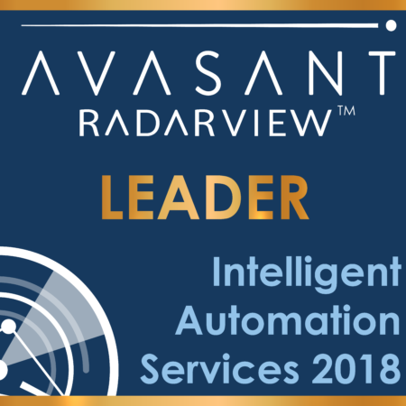 Badges 01 450x450 - Intelligent Automation Services Radarview™: Witnessing the Next Stage of Enterprise Cognitive Evolution