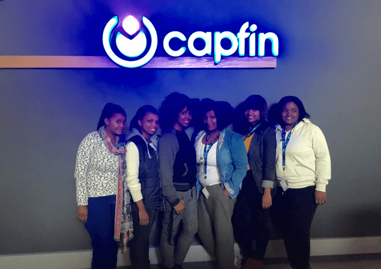 Capfin students cropped 1 - Africa