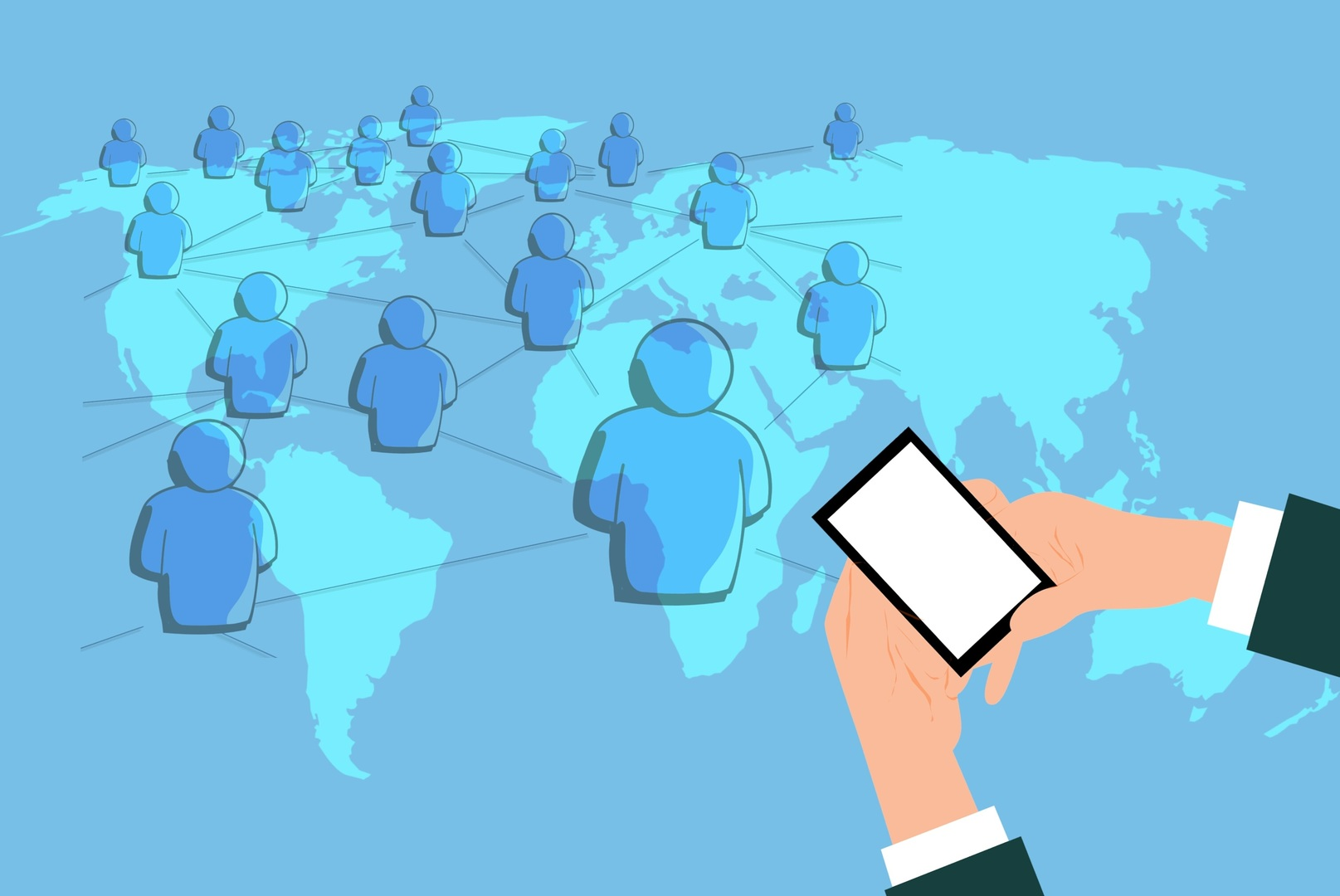 network digital marketing share mobile social media avatar 1451419 pxhere.com  - The Sharing Economy: Experiences over Ownership