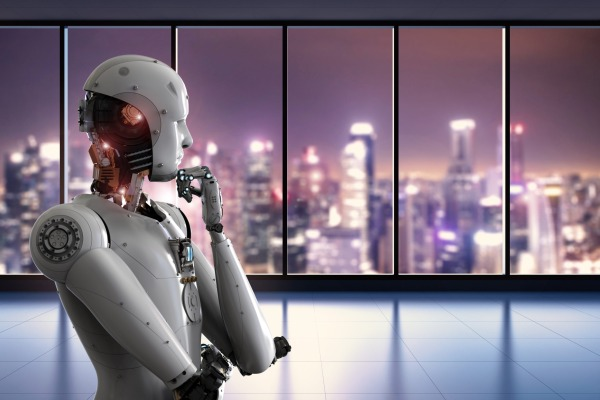 Robot thinking and looking outside scaled 600x400 - The Digital Transformation Journey: Lessons from a CIO's Perspective Part One: The Challenges Faced by Organizations