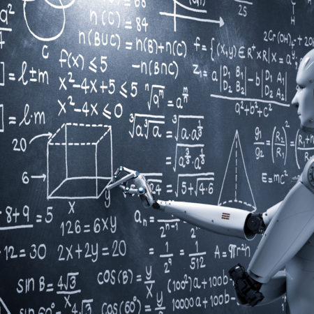 Robot working on chalkboard 450x450 - The Digital Transformation Journey: Lessons from a CIO's Perspective Part Two: Approach to Your Digital Transformation Journey