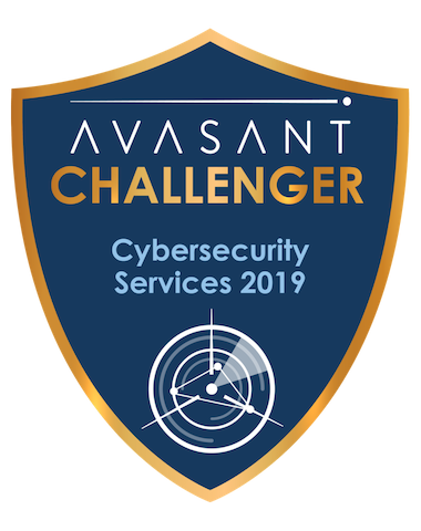 Cybersecurity Challenger Badge - Cybersecurity Services 2019 LTI RadarView™ Profile