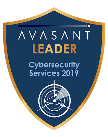 Cybersecurity Leader Badge - Cybersecurity Services 2019 Accenture RadarView™ Profile