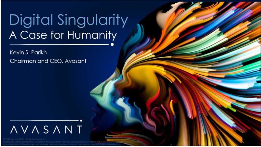 Digital Singularity Case for Humanity