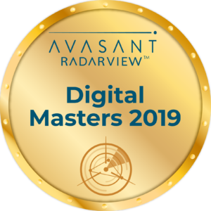 Round Badge-Digital Masters 2019