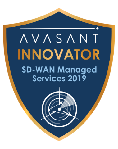 SD WAN Innovator Badge - SD-WAN Managed Services 2019 British Telecom RadarView™ Profile