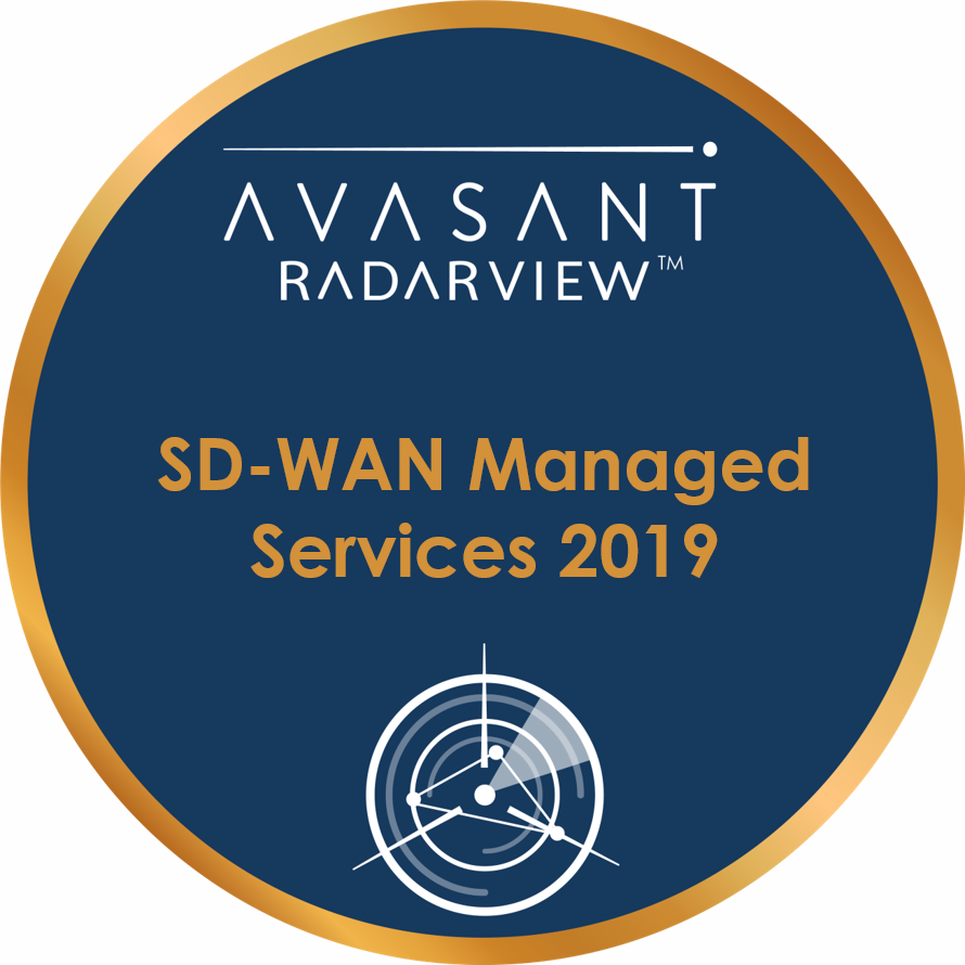 SD WAN Managed Services 2019 Circle - RadarView™