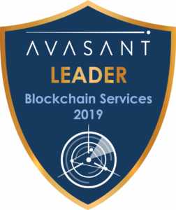Blockchain Leader badge 2019 252x300 - Blockchain Services 2019 IBM RadarView™ Profile