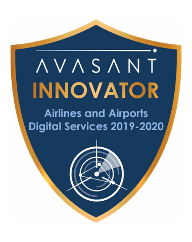 Airlines Airports 2019 2020 Innovator Badge - Airlines and Airports Digital Services RadarView™ 2019-2020 - WNS