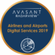 Airlines and Airports circle badge 80x80 - RadarView™