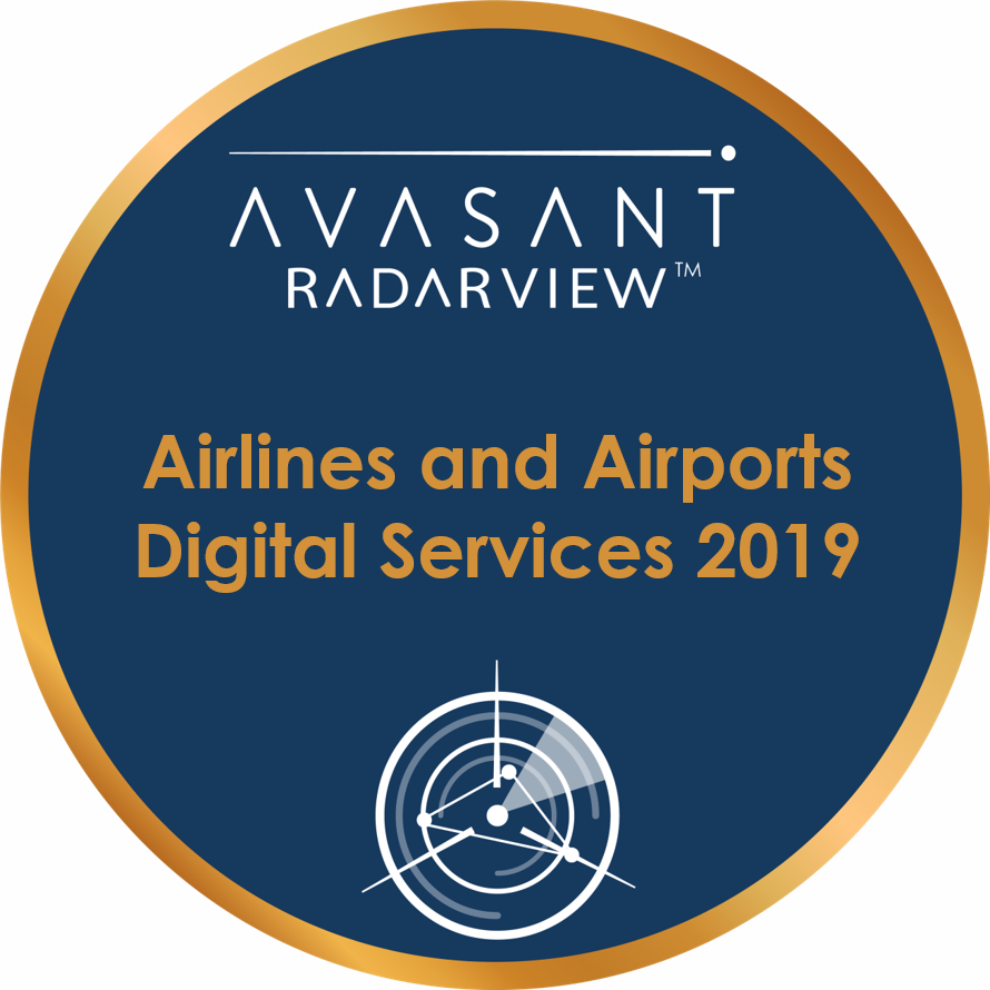 Airlines and Airports circle badge