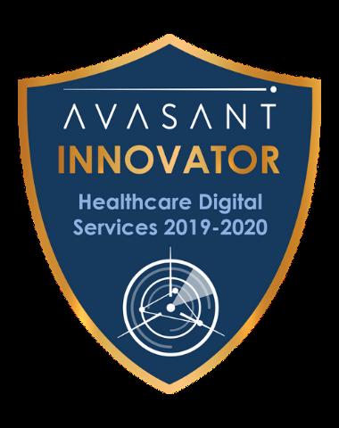 Healthcare Innovator badge 2019 - Healthcare Digital Services RadarView™ 2019-2020 - Atos