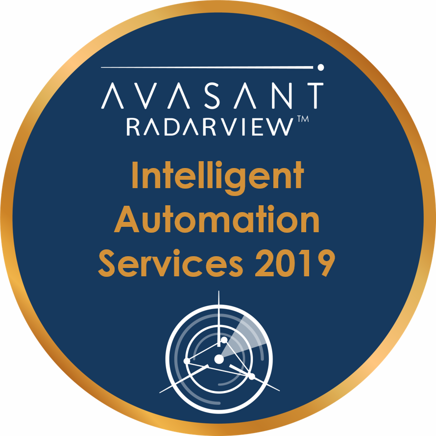 Intelligent Automation 2019 Circle Badge - RadarView™