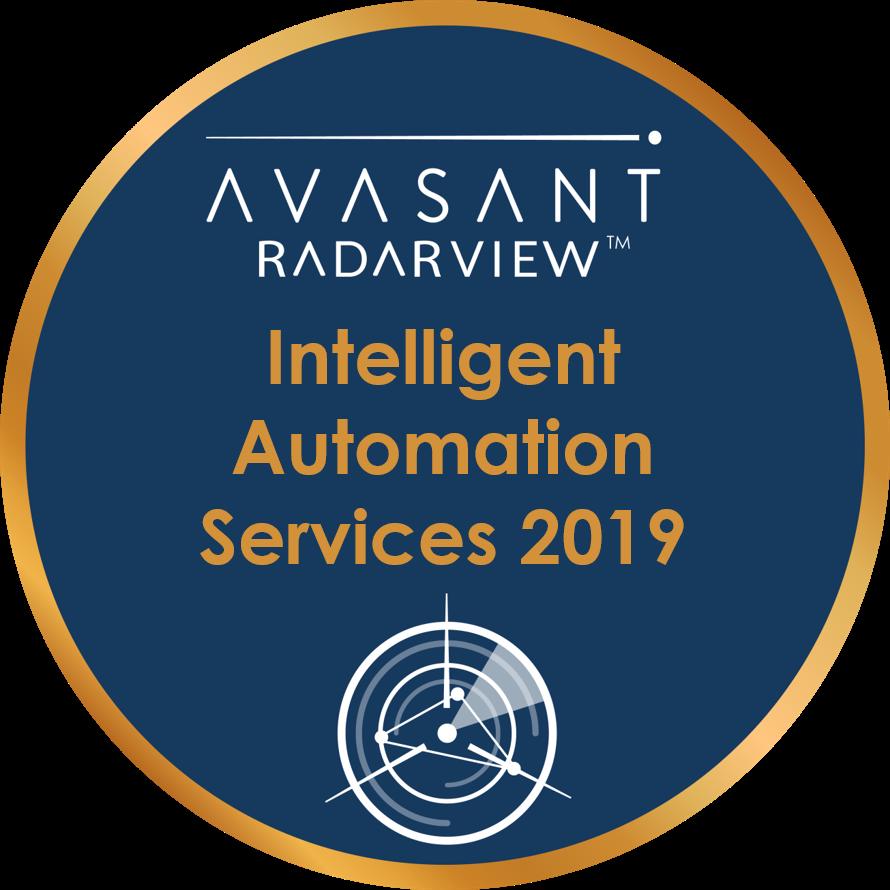 Intelligent Automation 2019 Circle Badge - RadarView™
