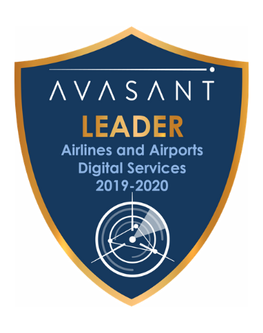 AA Leaders badge 2019 2020 - Airlines and Airports Digital Services RadarView™ 2019-2020 - HCL