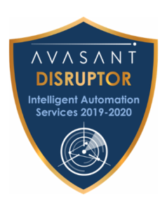 IA Disruptor badge 1 238x300 - Intelligent Automation Services RadarView™ 2019-2020 - Zensar