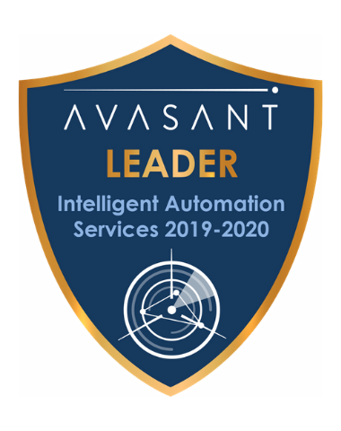 IA Leader badge 1 - Intelligent Automation Services RadarView™ 2019-2020 - IBM