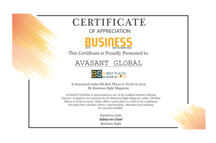 Business-Sight_Avasant_Certificate