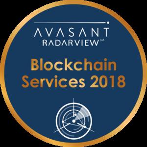 blockchain services 2018 - RadarView™