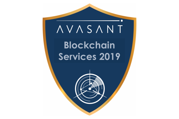 RVBadges PrimaryImage Blockchain19 600x400 - Blockchain Services 2019 RadarView™