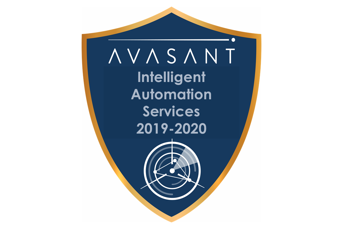 RVBadges PrimaryImage IA Services - Applied AI and Analytics Services 2019 RadarView™