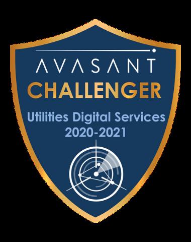 Utilities Challenger badge 1 - Utilities Digital Services RadarView™ 2020-2021 - Fujitsu