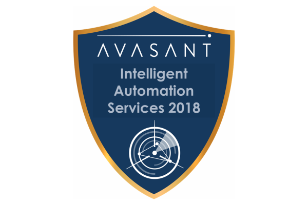 RVBadges PrimaryImage IA2018 600x400 - Intelligent Automation Services 2018 RadarView™