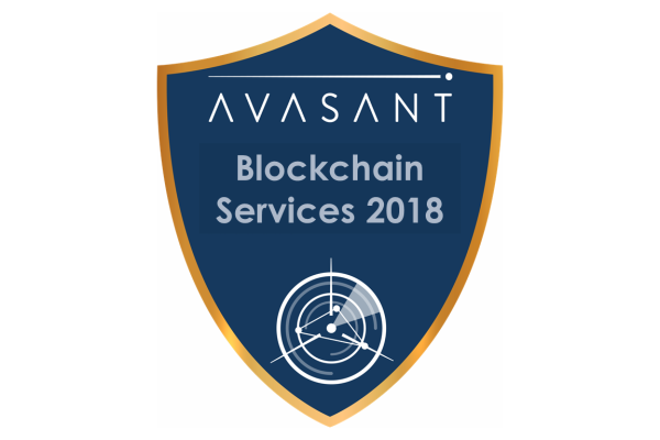 RVBadges PrimaryImage blockchain18 600x400 - Blockchain Services 2018 RadarView™