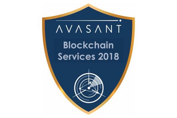 RVBadges PrimaryImage blockchain18 600x400 - Blockchain Services 2018 RadarView™