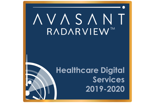 RVBadges PrimaryImage healthcare 600x400 - Healthcare Digital Services 2019-2020 RadarView™