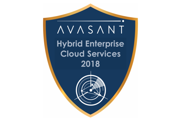 RVBadges PrimaryImage hybrid18 600x400 - Hybrid Enterprise Cloud Services 2018 RadarView™