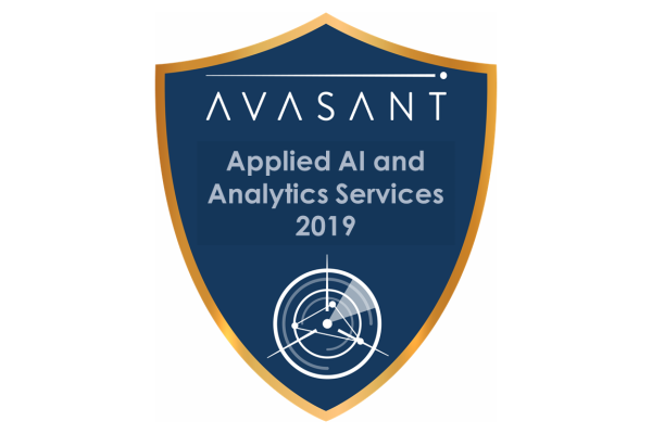 RVBadges PrimaryImages AI2019 600x400 - Applied AI and Analytics Services 2019 RadarView™