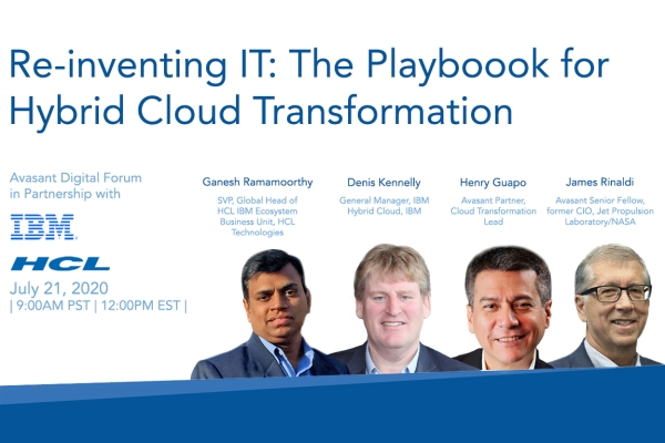 July21 Webinarimage 600x400 - Re-inventing IT: The Playbook for Hybrid Cloud Transformation