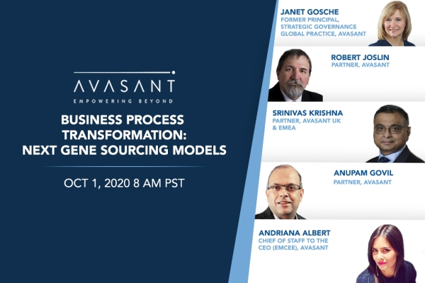 avasant bpt product 600x400 - Business Process Transformation: Next Gen Sourcing and Digital Business Models