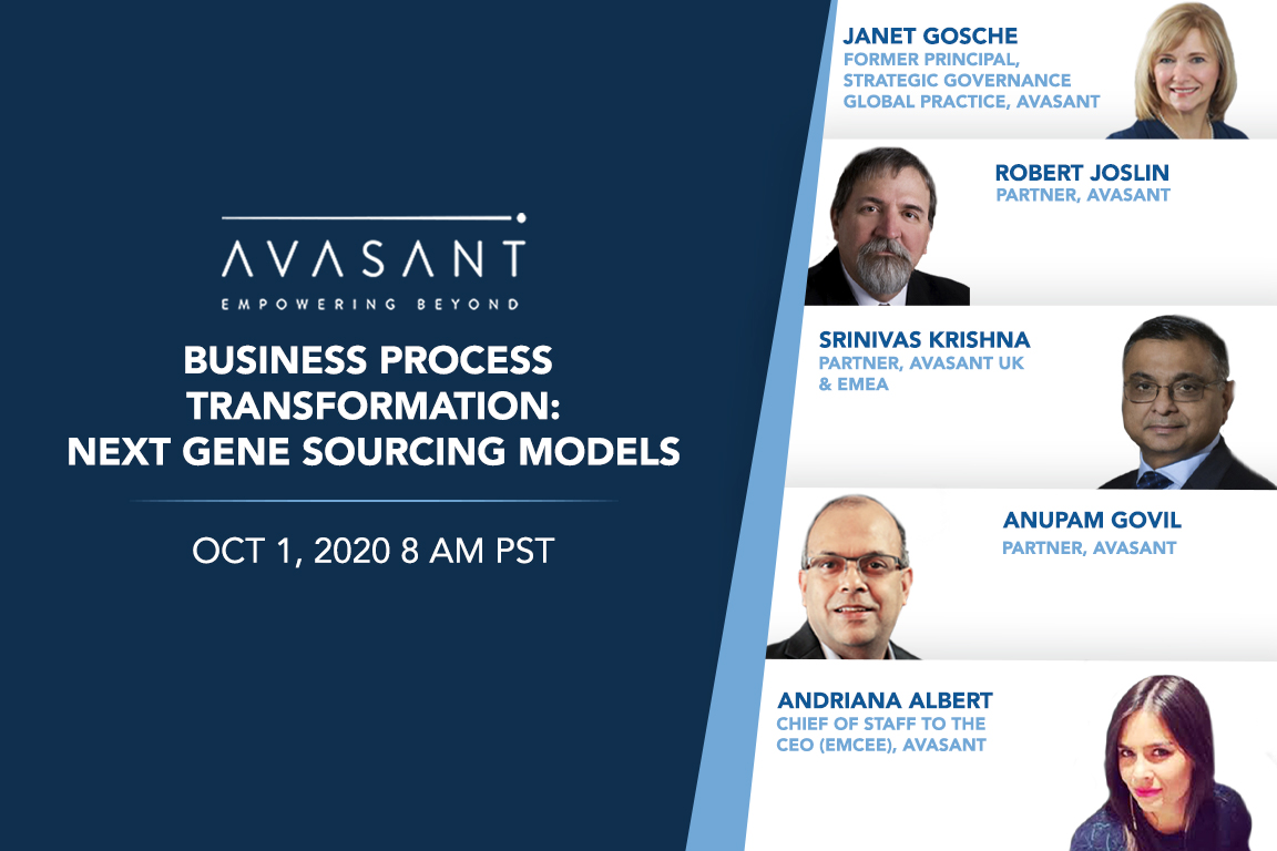 avasant bpt product - Future of Governance: Driving Business Agility and Resilience
