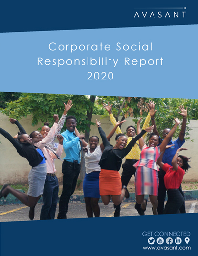 Avasant Corporate Social Responsibility Report 2020 - Why Us