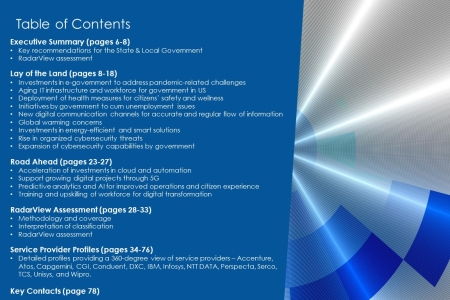 TOC StateLocalGovtDigitalServices2020 21 450x300 - State & Local Government Digital Services 2020-2021 RadarView™