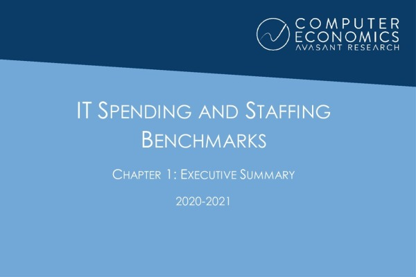 ISS2020 21Chapter1ExecutiveSummary 600x400 - IT Spending and Staffing Benchmarks 2020-2021: Chapter 1: Executive Summary