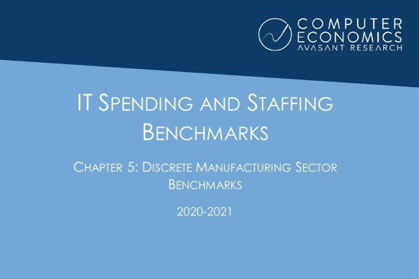 ISS2020 21Chapter5 600x400 - IT Spending and Staffing Benchmarks 2020-2021: Chapter 5: Discrete Manufacturing Sector Benchmarks