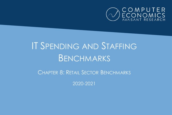 ISS2020 21Chapter8 600x400 - IT Spending and Staffing Benchmarks 2020-2021: Chapter 8: Retail Sector Benchmarks