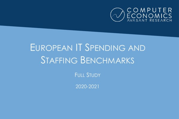 ISSEurope2020 21Fullstudy 600x400 - European IT Spending and Staffing Benchmarks 2020-2021: Full Study