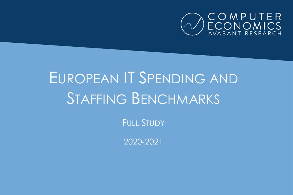 European IT Spending and Staffing Benchmarks 2020-2021: Full Study Image