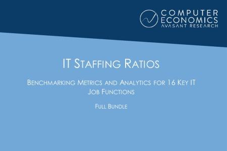 ITstaffingRatiosFullBundle 450x300 - IT Staffing Ratios: Benchmarking Metrics and Analysis for 16 Key IT Job Functions