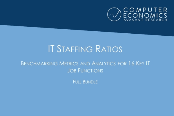 ITstaffingRatiosFullBundle 600x400 - IT Staffing Ratios: Benchmarking Metrics and Analysis for 16 Key IT Job Functions